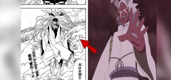 Nuevo diseño de Momoshiki para el manga de Boruto.