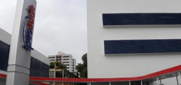 Prédio do Ipesaúde, na cidade de Aracaju