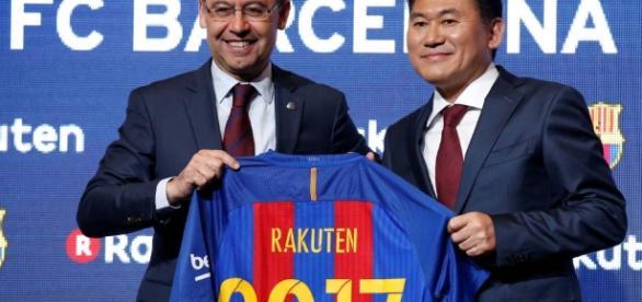 Rakuten se convierte en el sponsor principal del FC Barcelona hasta la temporada 2020-21