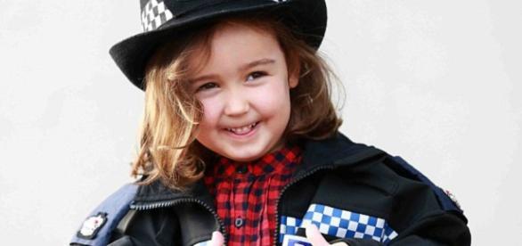 Suzy McCash, de quatro anos, foi heroína