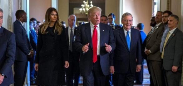 """Trump: """"Proceso de transición está bien organizado"""" • El Nuevo Diario - com.ni"""