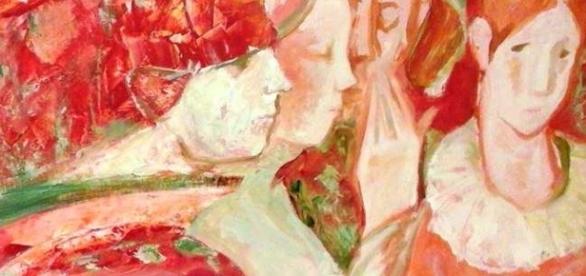 """Dalia Bialcovski """"Oameni de societate"""" incursiune atemporală în eterna umanitate, cu paruri, gulere şi cape"""