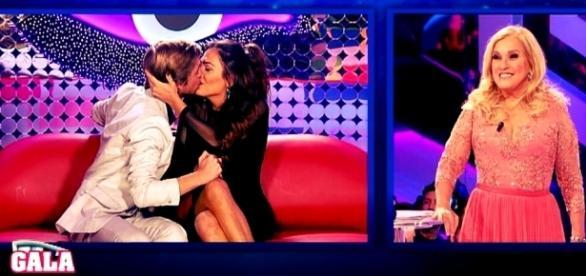 Diogo Semedo beijou Amor na gala de domingo