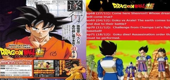 Dragon Ball Super 68,69,70,71 títulos oficial