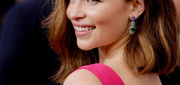 Emilia Clarke en janvier 2016, aux 2016 SAG Awards © John Shearer
