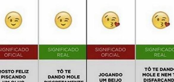Emojis e seu real significado.