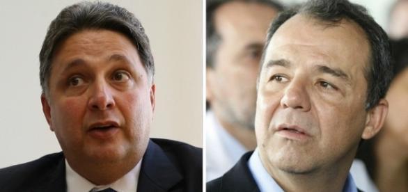 Ex-governadores foram aliados e hoje são rivais políticos; ambos estão detidos em Bangu