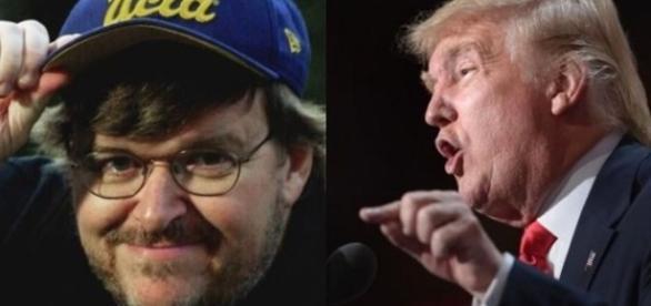 Michael Moore contro Trump su la 7   Tito di Persio