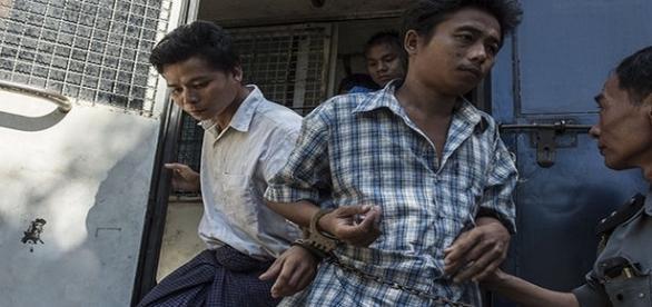 Naing poderá ser condenado a pena de morte (ROMEO GACAD / AFP / GETTY)