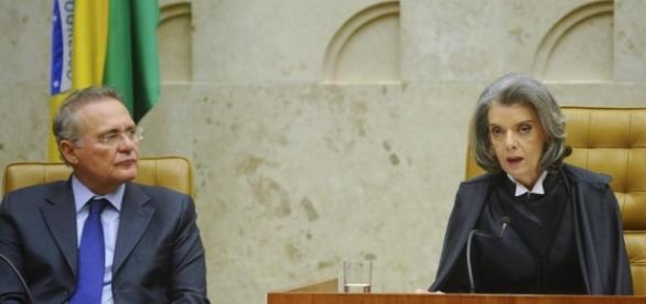 Presidentes da AMB e Ajufe, solicitam à presidente do STF, Cármen Lúcia, que afaste Renan Calheiros do cargo de presidente do Senado