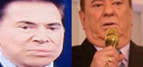 Raul Gil e Silvio Santos estão brigados