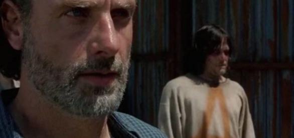 Rick e Daryl no quarto episódio