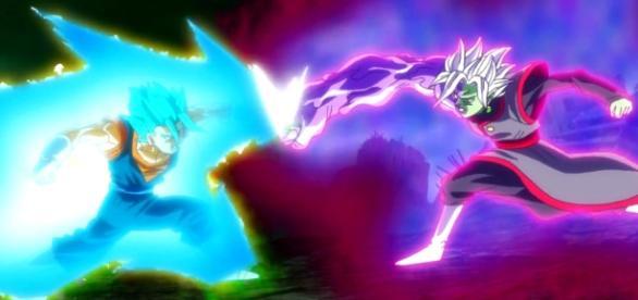 goku y zamasu dragon ball super d