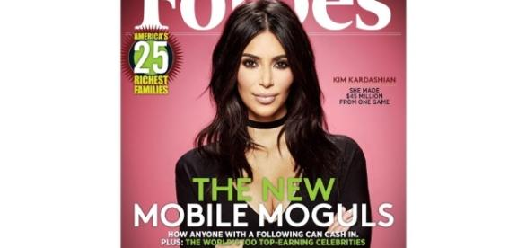 Kim Kardashian Covers 'Forbes' After Game Earns $160 Million - highsnobiety.com