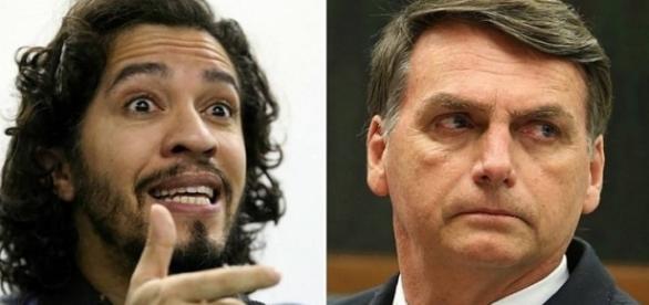 Deputado Jean Wyllys alega que cuspe foi resposta a comentários de Bolsonaro