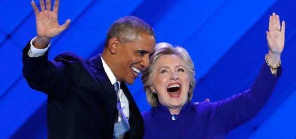 Obama lauds Clinton, paints optimistic vision at Democratic ... - pressherald.com