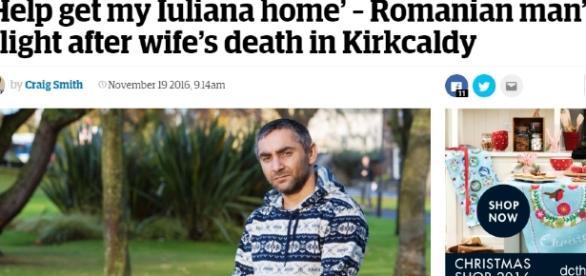 Povestea lui Iulian a fost publicată astăzi