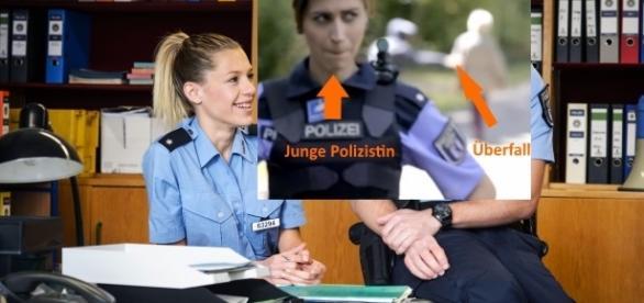 """Ungewollt komisch: RTL2 Serie """"Sterne von Berlin - Die jungen Polizisten"""" / Fotos: RTL2, Montage"""