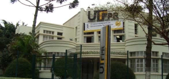 UTFPR, no centro de Curitiba, é uma da mais antigas e tradicionais instituições da cidade
