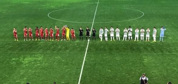 Imagen previa al partido entre el Real Murcia y el Córdoba B | Fotografía: Real Murcia