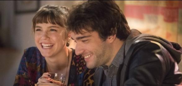 Isabela e Tiago em 'A Lei do Amor'