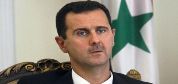 L'attuale presidente siriano Assad.