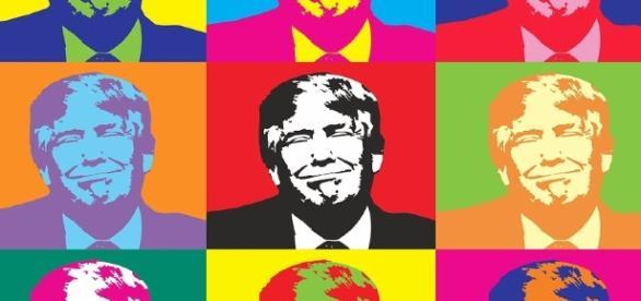 Las diversas caras de Donald Trump