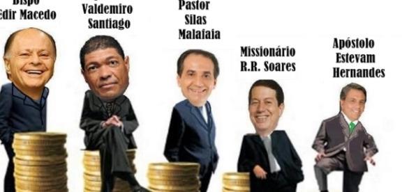 Pastores evangélicos mais conhecidos do país