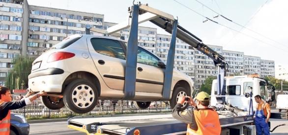 Șpagă poliția locala sector 1 pentru ridicarea de mașini