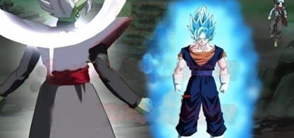 Zamasu vs Vegetto 2016 | Fusión de Goku y Vegeta