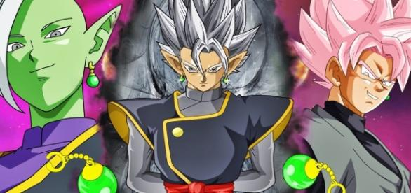zamasu y su fusion dragon ball super