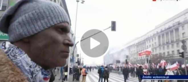 TVP ostro wyśmiewa prowokację Wyborczej i Hugo-Badera pomalowanego na murzyna! [WIDEO]