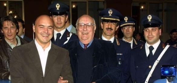 Andrea Camilleri e Luca Zingaretti - nanopress.it