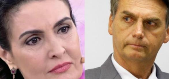 Bolsonaro critica enquete de Fátima Bernardes