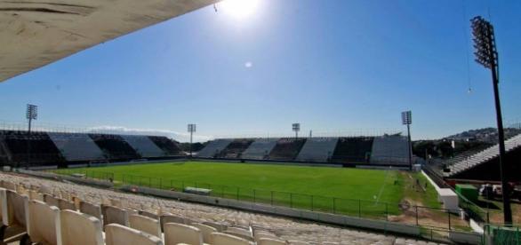 Botafogo usou o estádio neste ano, e ano que vem ele será do Flamengo.