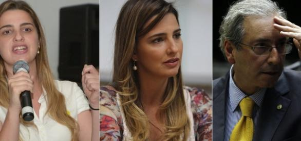 Clarissa Garotinho e Bárbara Cunha, filha de Cunha, vivem momentos de tensão