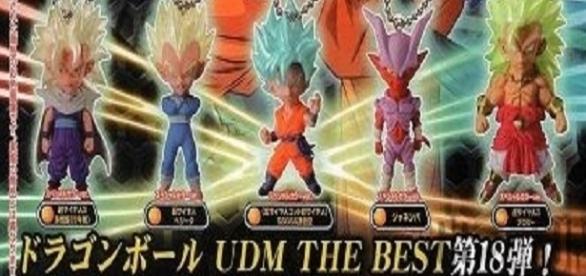 Colección UDM Best 18, por Bandai.