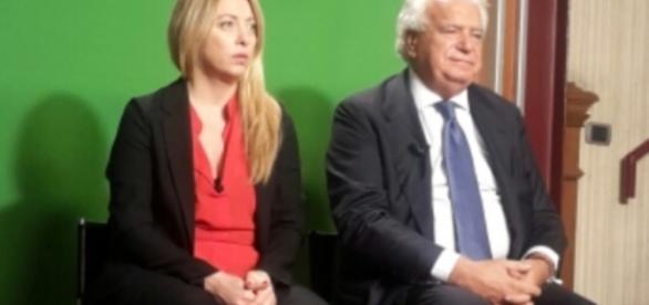 La Meloni contro la Rai colpevole di aver censurato il confronto tv con Verdini