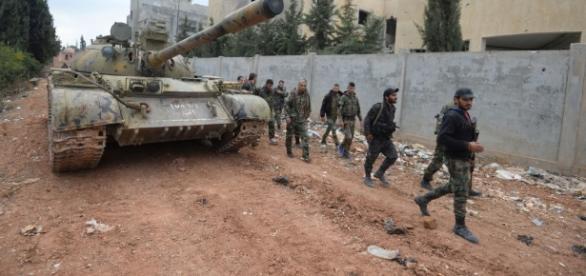Les victoires et revers de l'armée syrienne - sputniknews.com
