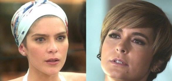 Letícia e Helô em 'A Lei do Amor' (Divulgação/Globo)