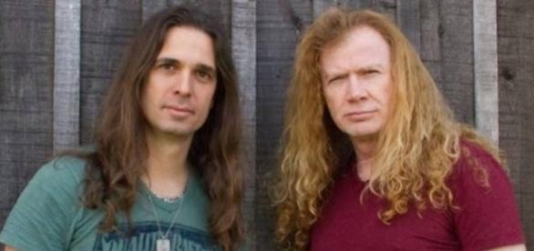Lua de mel musical entre Kiko Loureiro e Dave Mustaine teria chegado ao fim