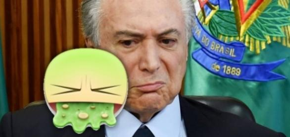 Michel Temer quer impedir 'vomitaço' no Facebook