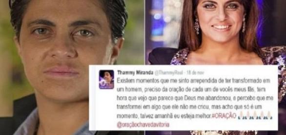 Thammy Miranda e a polêmica envolvendo sua sexualidade