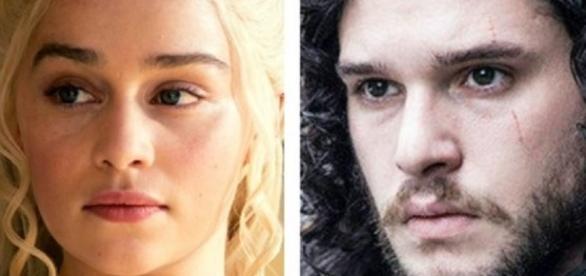 Daenerys Targaryen tía de Jon Snow