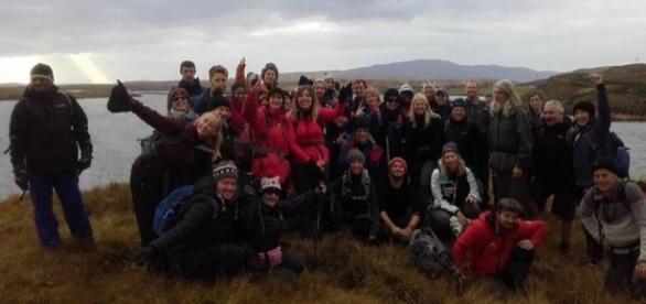 Everyone That Went On The Iceland Trek 2016 To Raise Money For RNIB - own work