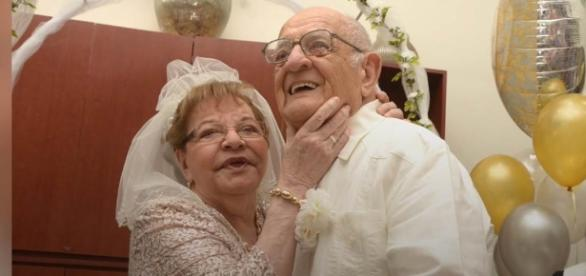 First-time bride, 80, weds her 95-year-old Mr. Right in nursing - Photo: Blasting News Library - today.com