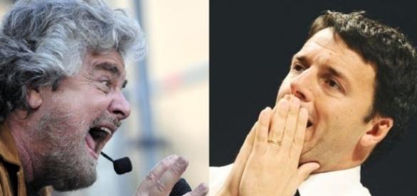 Grillo, dal suo blog, tuona ancora contro Renzi