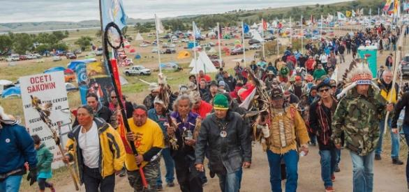 Hundreds of veterans to join demonstrators at Standing Rock pipeline protest. - theguardian.com