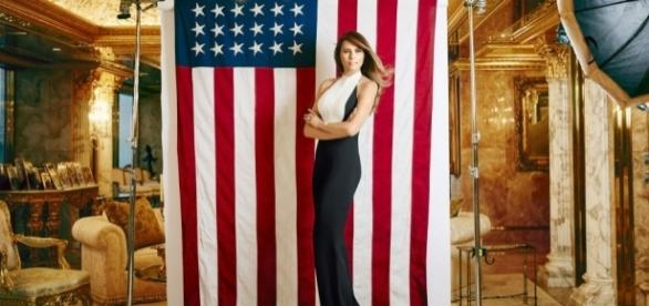 Melania Trump's First Interview About Husband Donald Trumps ... - harpersbazaar.com