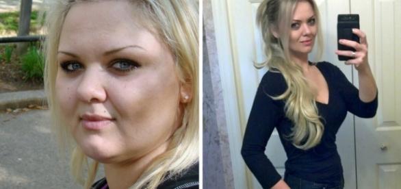 Alvina perdeu mais de 60 kilos